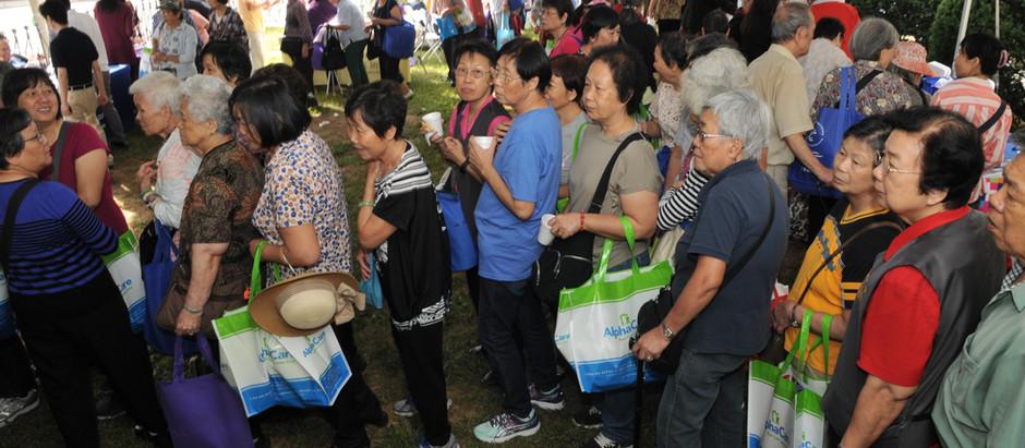 Senior Health Fair Draws a Sea of Seniors