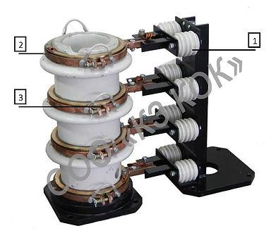 высоковольтный экскаваторный токоприемник ТКЭ 0-4