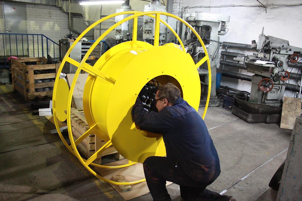 гравитационный барабан для козлового крана