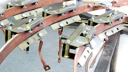 щеточный узел экскаваторного токоприемника