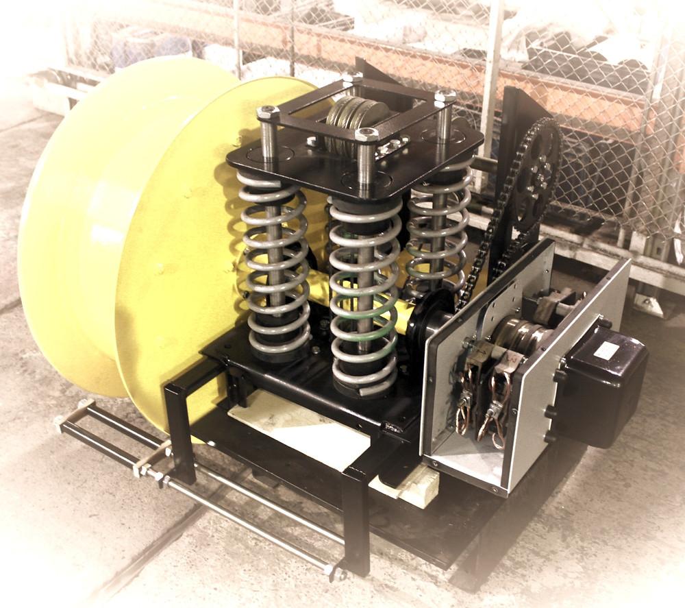 Устройство пружинного кабельного барабана