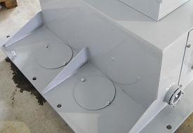 часть корпуса экскаваторного токоприемника