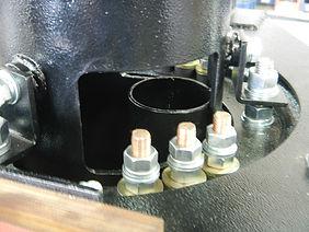 кабельный выводы кольцевого токоприемника