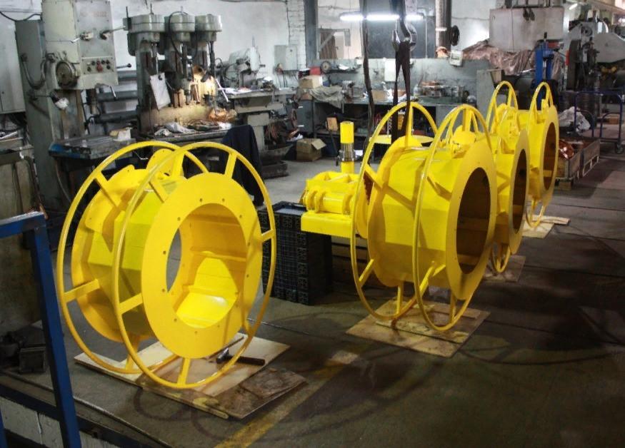 производство гравитационных барабанов