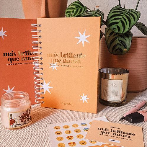 Diario de gratitud y bienestar