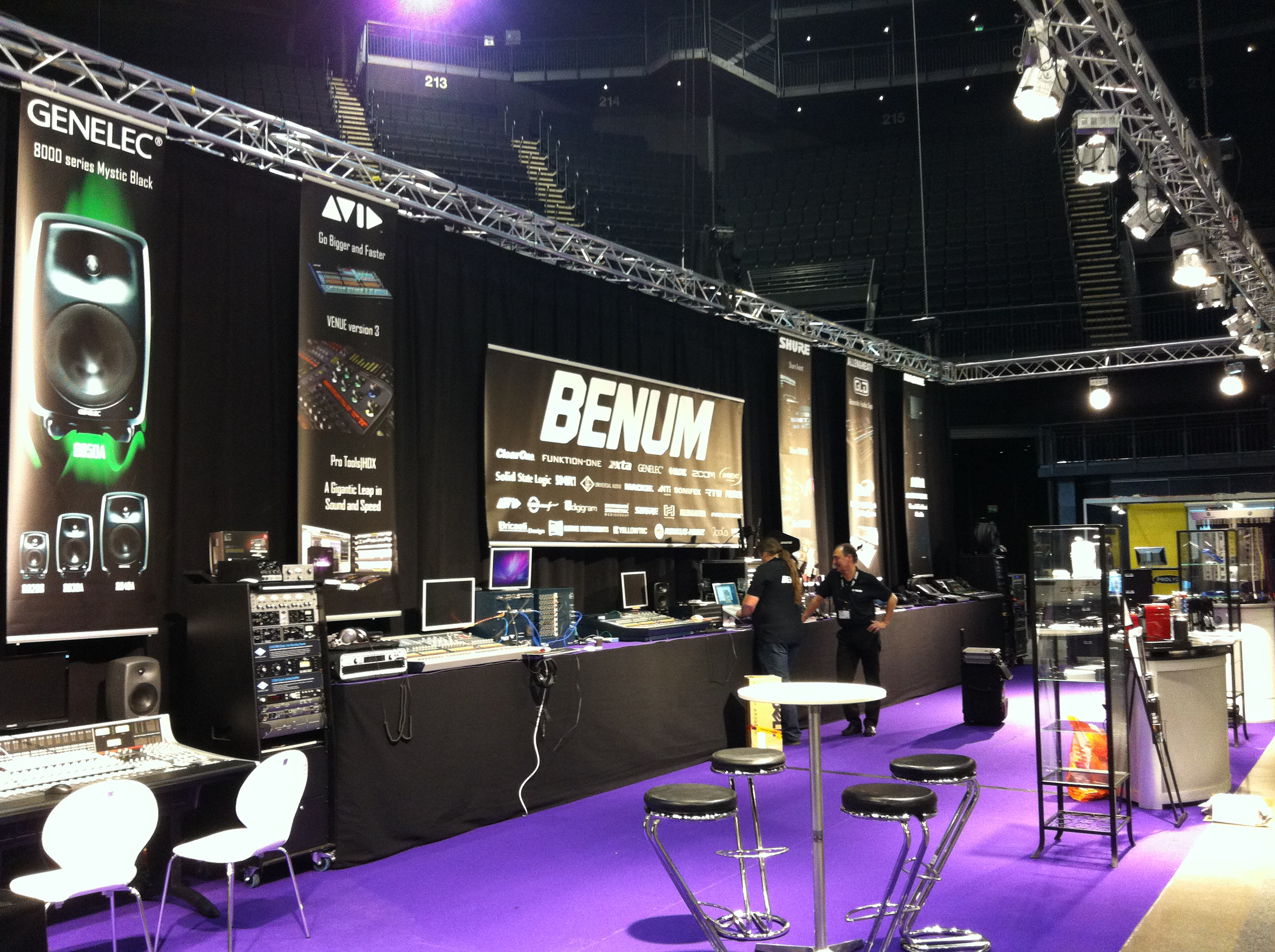 Messestand, LLB for Benum