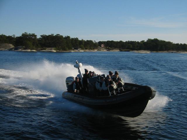 RIB safari i Oslofjorden