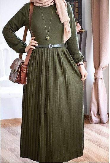 TRIKO DRESS - Green