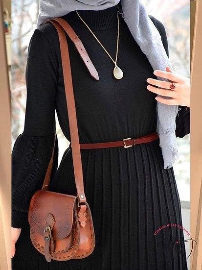 TRIKO Ballon DRESS - black
