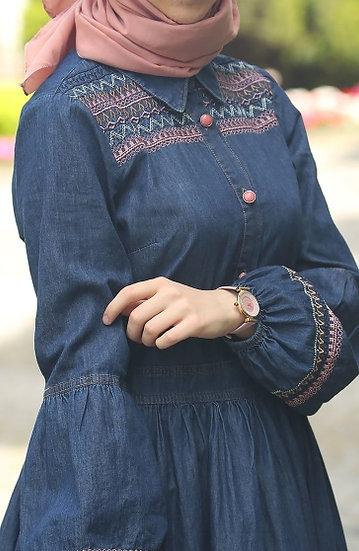 فستان جينزmk