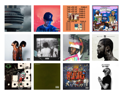 Top 10 Rap Albums of 2016