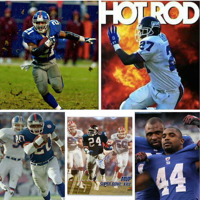 Kings of Giants; The All Time RB's