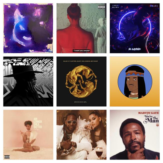 Top 20 Pop/Rock/R&B Records of 2019