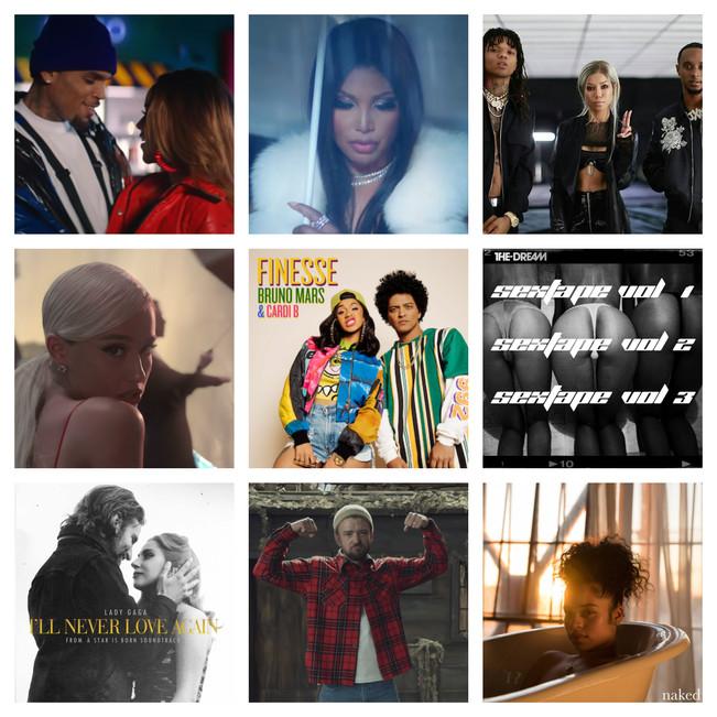 Top 20 Pop/Rock/R&B Records of 2018