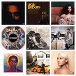 Top 10 Pop/Rock/R&B Albums of 2018