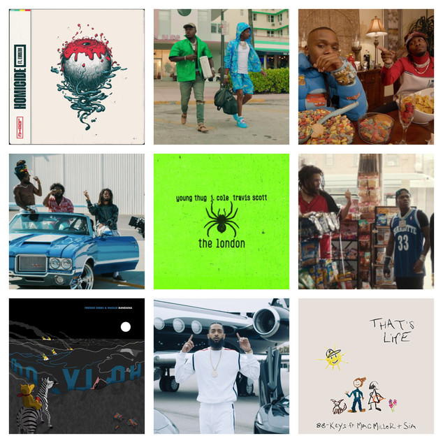Top 20 Rap/Hip-Hop Records of 2019
