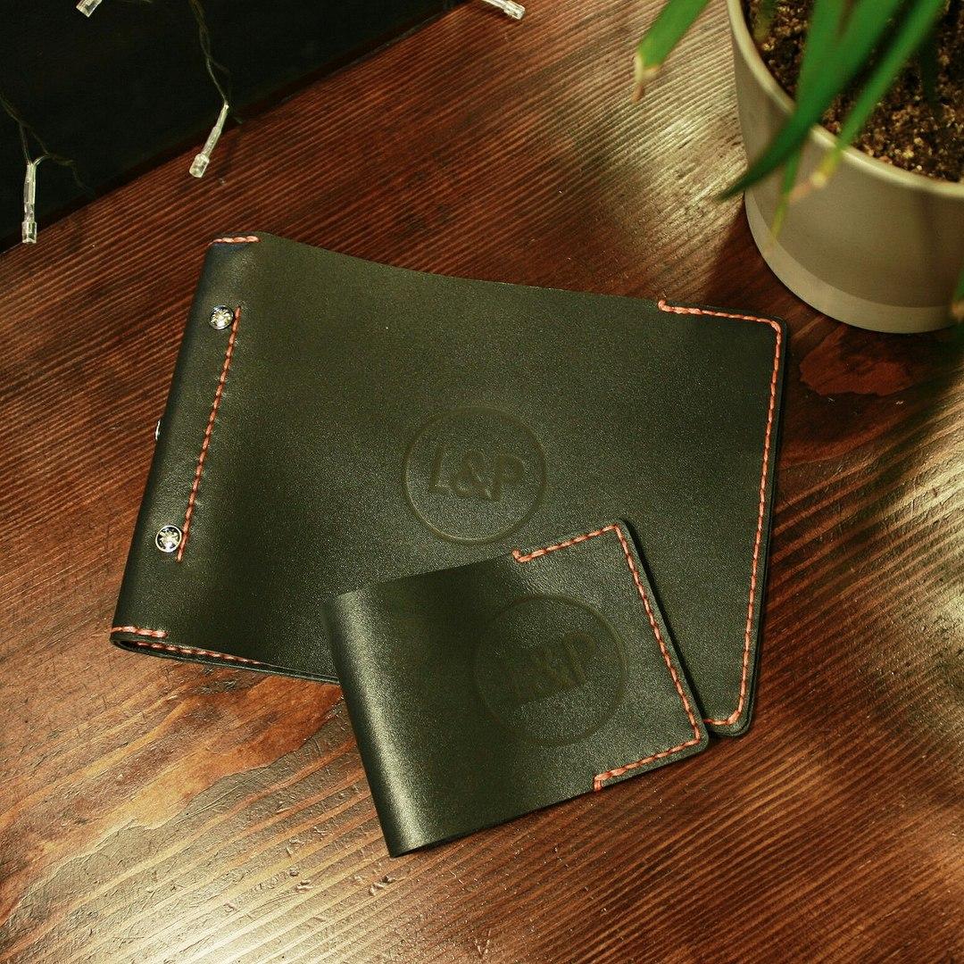 Ордерная книга обложка для юриста фирменный стиль сувениры с логотипом chegoods