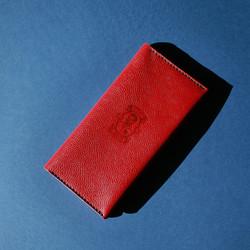 Сувенирная продукция Портмоне клатч тревеллер из натуральной кожи растительного дубления ручной рабо