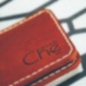 мини кошелек кирпичного рыжего цвета che