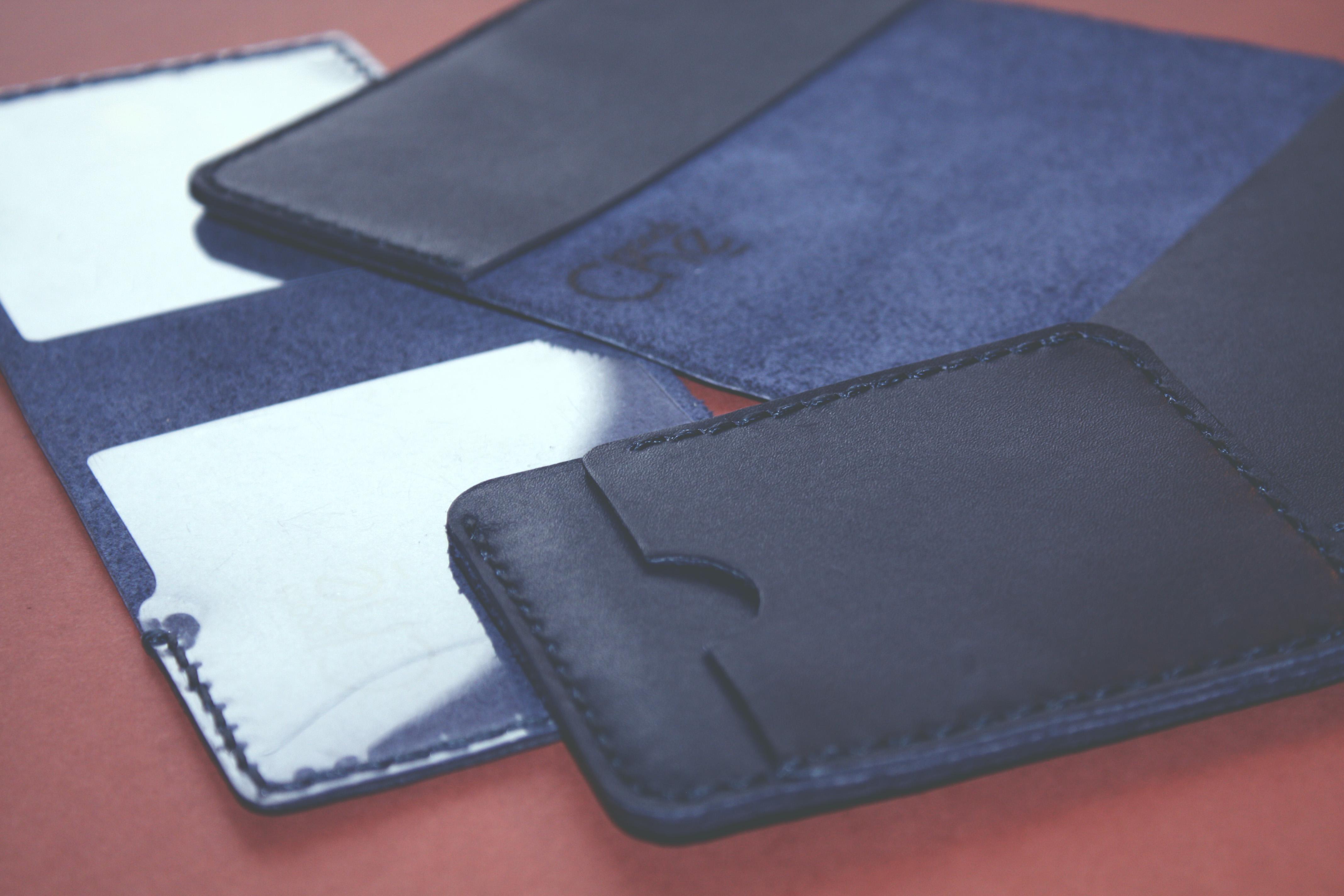 Обложка для удостоверения паспорта цвет синий ксивы корочки удостоверения кардхолдер chegoods ручная