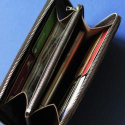Кошелек портмоне на молнии для денег документов карточек телефона ручной работы на заказ с логотипом