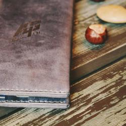 Тревеллер Портмоне Клатч синий сувенирная продукция подарок клиентам руководителю коллеге ручная раб
