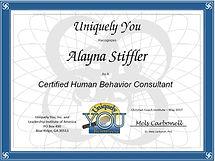 certified human behavior consultant