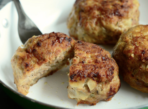 Air Fryer Allergen Free Meatballs