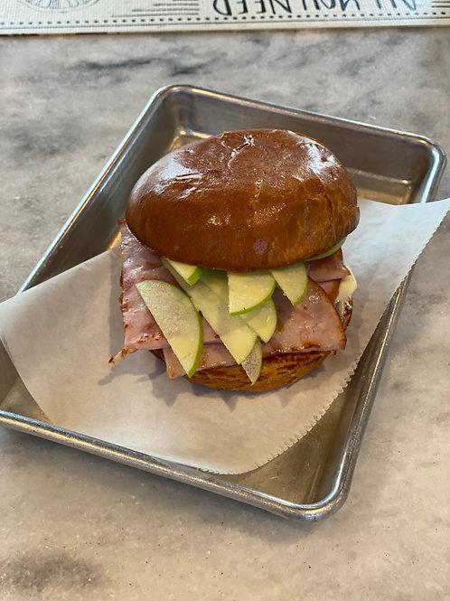 Ham & Brie sandwich