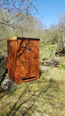 Camping Shower with hot water