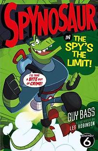 Spynosaur 3 The Spy's the Limit Cover.jp