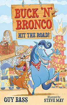 Buck 'n' Bronco Hit the Road! Cover hi r