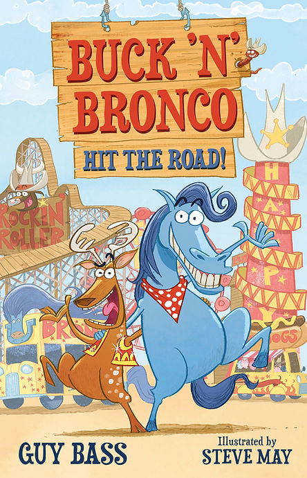Buck 'n' Bronco Hit the Road! Cover hi r