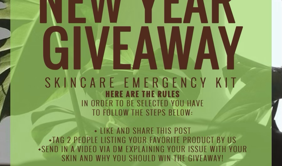 New Year Giveaway !