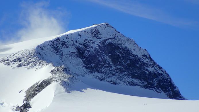 Galdhøpiggen - highest peak in Norway