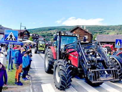 Traktorrock parade