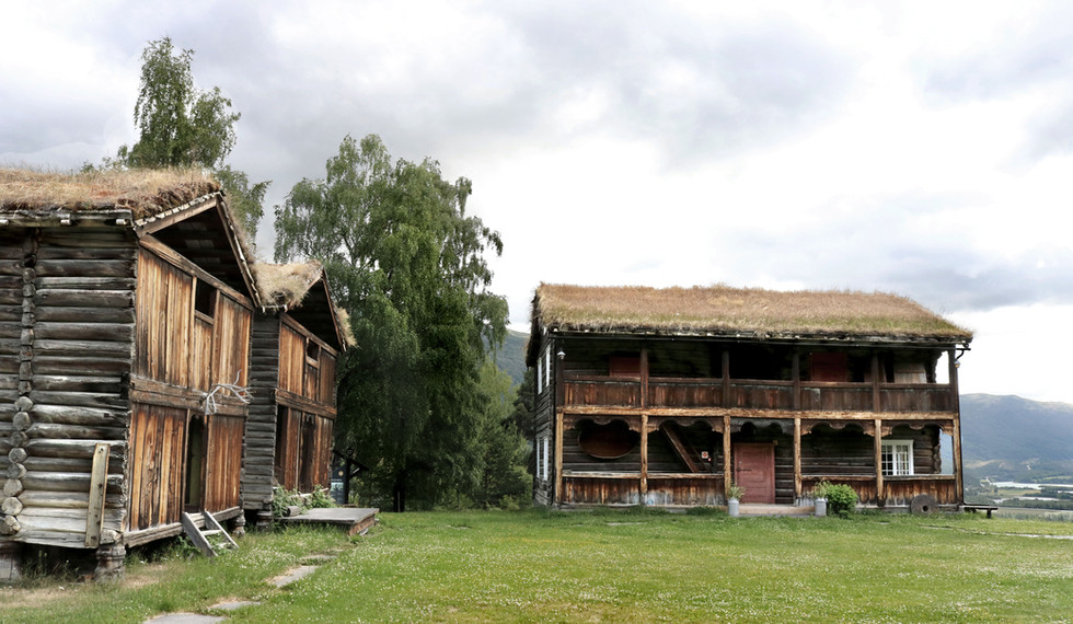 Visit Jutulheimen in Vågå to experience some real norwegian history. There you can take a look at houses from as far back as the 1600s