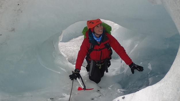 Icetunell on Bøverbreen