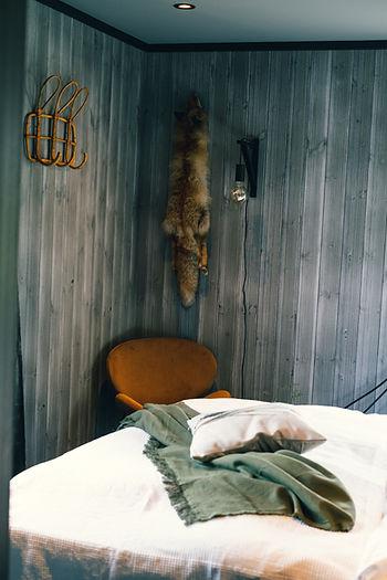 Dobbeltrom på SOV Lodge i Vågå.