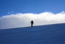 Topptur på ski til Lomseggen