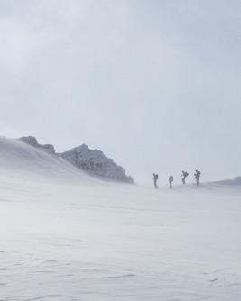 På ski i Jotunheimen
