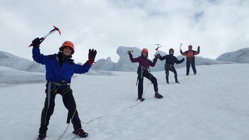 Blandt istårn på Bøverbreen