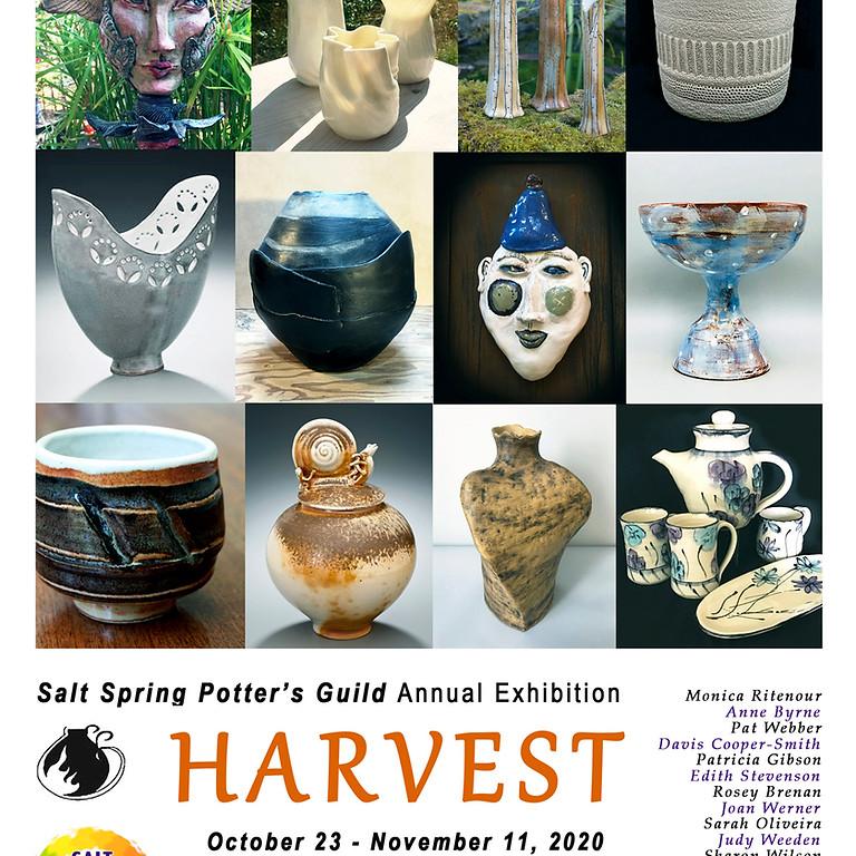 Harvest:  Salt Spring Potter's Guild Annual Exhibition