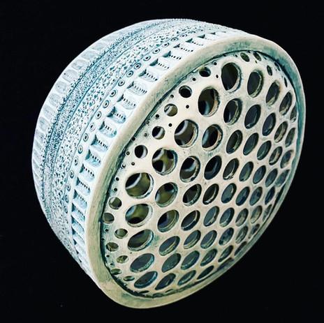 Diatom Sculpture by LeeAnn Norgard