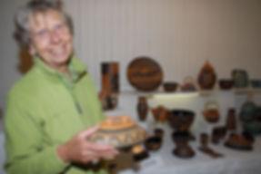 Membership - Judy Weeden at our Biennial