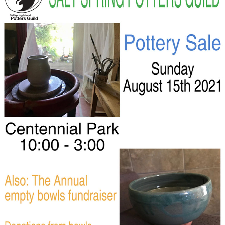 Pottery Sale and Food Bank Fundraiser
