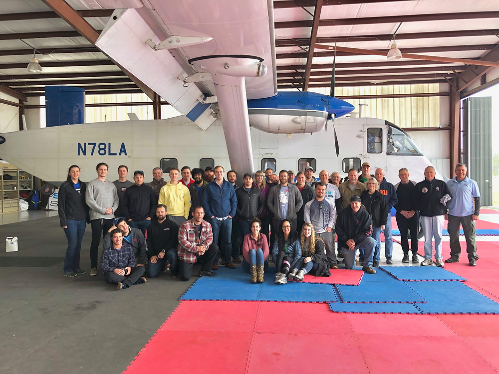Jumpers gather at Skydive Suffolk for USPA Safety Day 2019