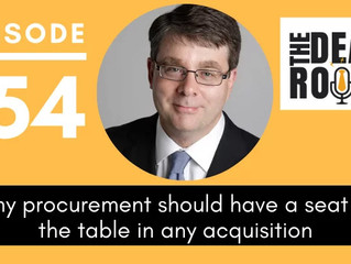 Why procurement should have a seat at the table in any acquisition