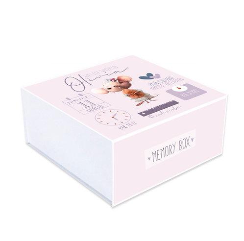 Memory box Dati Topino Mauve