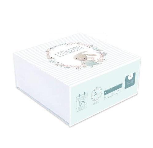 Memory box Dati Coniglietto Mint